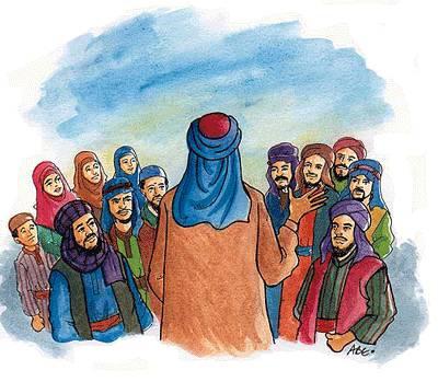 Nama-nama Nabi dan Rasul Allah SWT dalam Bahasa Inggris