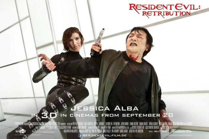 Wow...! Jessica Alba Ternyata Ikutan film Resident Evil! Keren Aksi-Aksinya :D