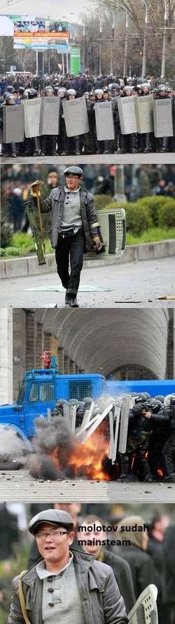 karna molotov sudah mainstream. (MAU LEBIH WOW LAGI? : > (Meme komik) kenapa grumpy cat malas masuk facebook? :o > http://pulsk.com/151435 >Spongebob Versi eyang subur> http://pulsk.com/166035 >ooh patrick> http://pulsk.com/159146