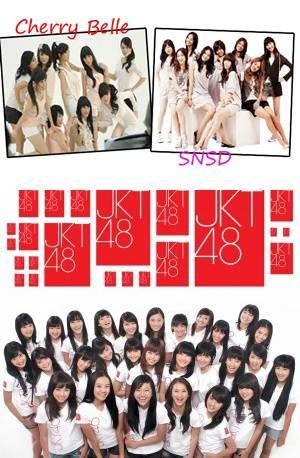 Kenapa sahabat pulsker kebanyakan nge post tentang SNSD-Cherry Belle- dan JKT48 ??
