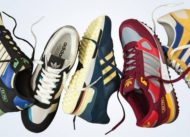 """SEPATU,A fashion icon from the late 80s and early 90s is back on the street with the adidas Originals ZX. Running performance and style come together in this shoe. Make it your own this season.""""WOW""""nya COy"""
