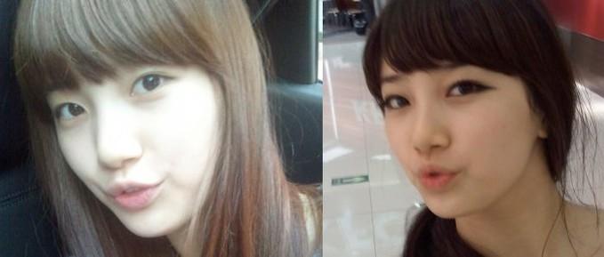 cantikan mana???? Suzy MissA no makeup atau with makeup????? W.O.W nyaa dooonnzz