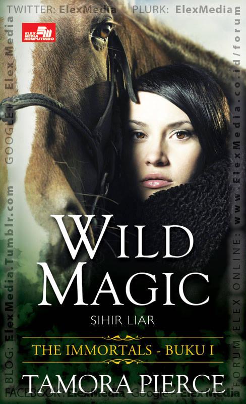 Sebuah novel seri baru yg penuh petualangan seru dgn rating: Goodreads 4.28 / 5 bintang Status di negara asal: 4 volume tamat IMMORTAL vol. 01 - Wild Magic http://ow.ly/kXHRI Harga: Rp. 39,800