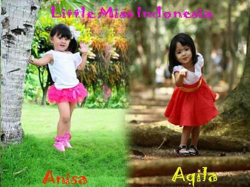 mana yang imut dan lucu aqila little miss indonesia atau annisa little miss indonesia , kalau suka klik saja wow