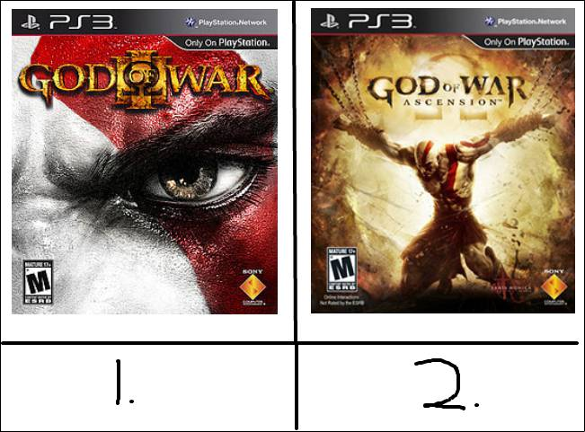 god of war mana yang kamu SUKA..??? WOW dulu, terus COMMENT y...