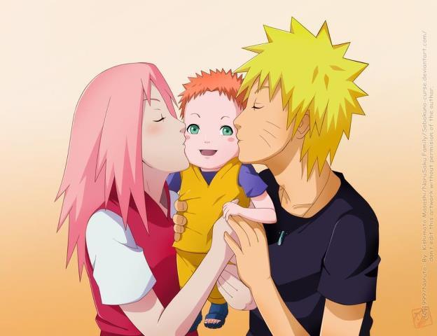 Setujukah kalian Naruto dengan Sakura ?! yang setuju klik WOW, yang gk setuju Komen.