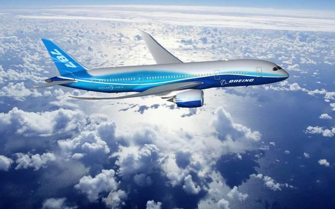 Ini Dia pesawat terbaru milik Boeing.. 787-Dreamliner mana WOW nya