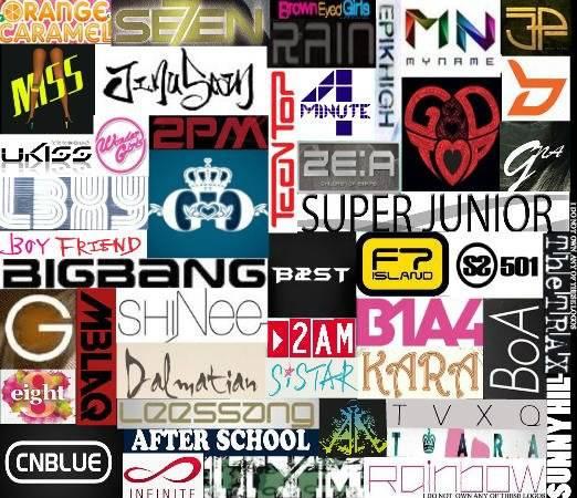 Beberapa logo Kpop ^^ Maaf kalau ada yang hilang -_-