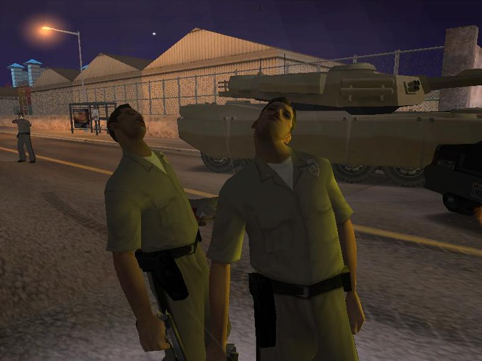 it is crazy Gta San Andreas (like)
