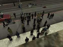 ngumpul2 orang untuk berperang Gta San Andreas