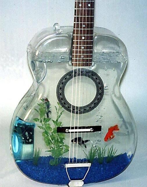 haha :D wah! gitar aquarium terbaru dan pastinya unik! kira-kira bersuara gak tuh? klik wow dan komen ya :)