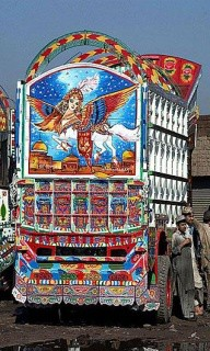 amazing picture on truck