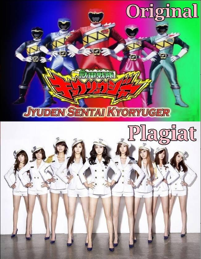 Ternyata SNSD meniru gaya berfoto Power Rangers ! WOW-nya dong (Ê?â?£Æª)
