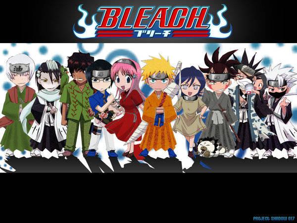Remix antara bleach dengan Naruto.. wownya dong