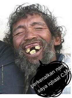 wajah asli iqbaal CJR wkwkwkkw...