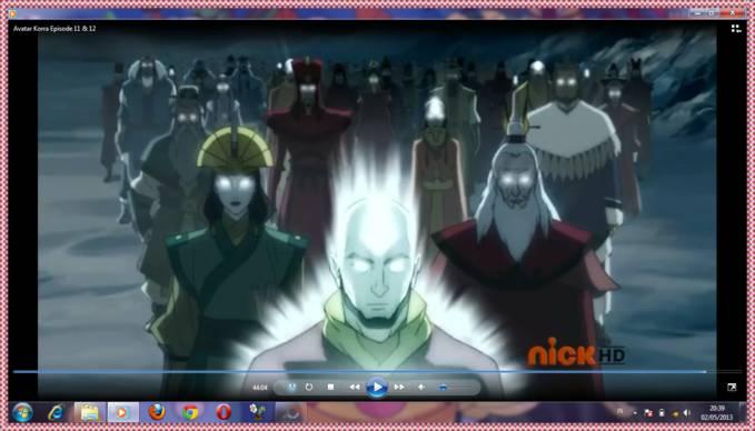 Avatar Aang dan Avatar sebelumnya di film Avatar the legend of korra! yang suka jgn lupa wownya ya!!