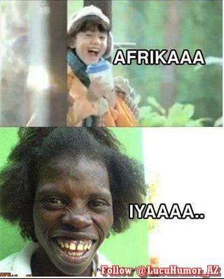 IKLAN OREO VERSI AFRIKA:). BERAPA WOOW UNTUK GAMBAR INI.