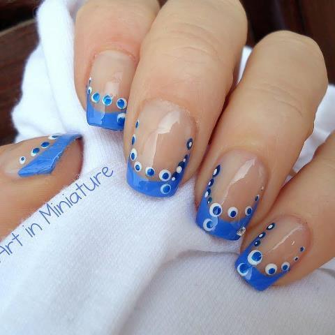 Nail art.. :) WOW nya bagi pecinta nail art.. :) & yg suka.. :)