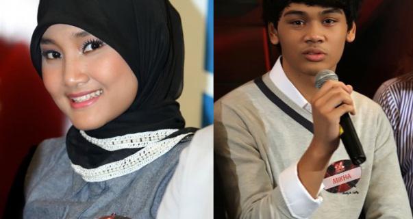 X Factor : Fatin Shidqia dan Mikha Angelo Jadian?