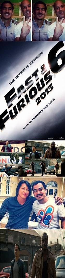wow!Setelah sukses dalam film The Raid bersama Iko Uwais, aktor tampan dari indonesia Joe Taslim telah menyelesaikan film layar lebar perdananya di Hollywood yaitu Fast and Furious 6,klik wow nya dong untuk aktor kita!