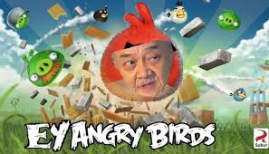 "ini dia gemes baru karya indonesia""EYANGRY BIRDS""yg akan di liris 3000 tahun kedepan"