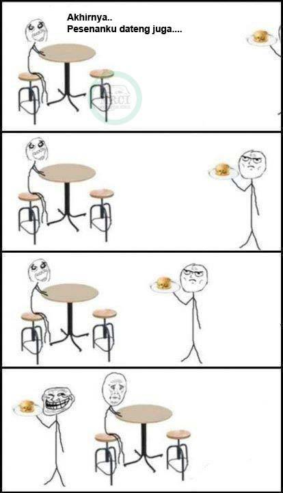 hahahahah kasian banget orang itu !