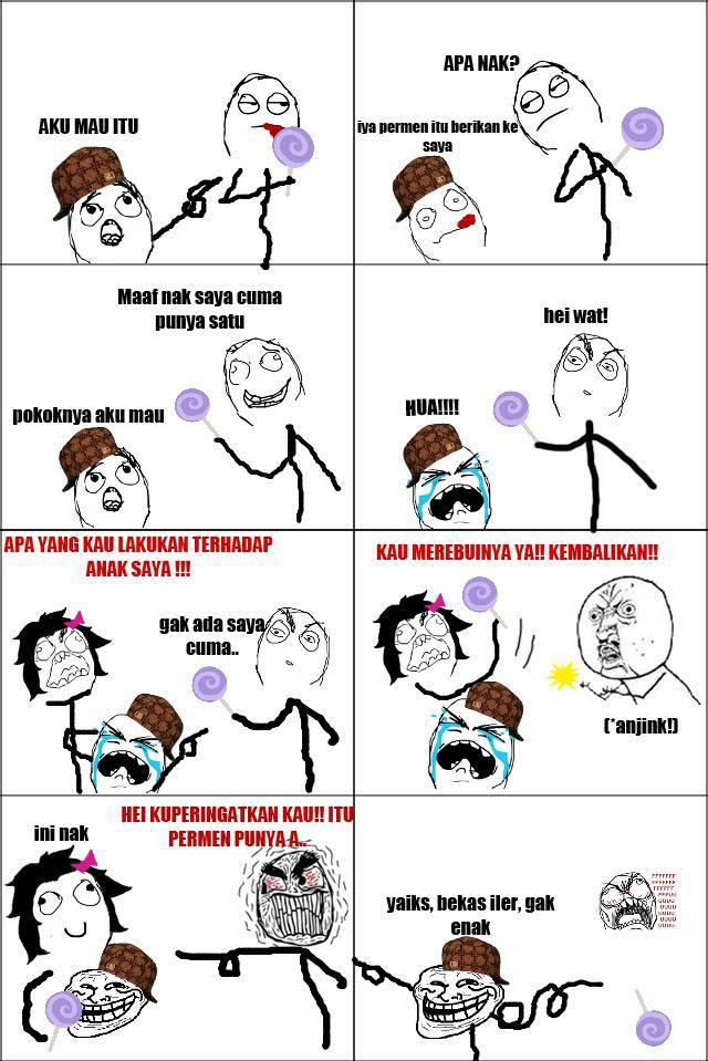 hahaha kasian banget :D gpp lah :p