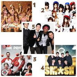 Pilih yang Mana ???? Cherrybelle , SNSD , One Direction , Smash , Nu Dimension