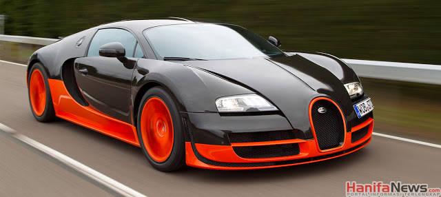Mobil tercepat di dunia Bugatti Veyron Super Sport - 431km/jam