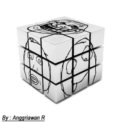 Rubik Rage Meme