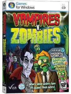 ini nih, game lama 2012. Vampire vs Zombies, games for window! harus download! WOW-nya ya!