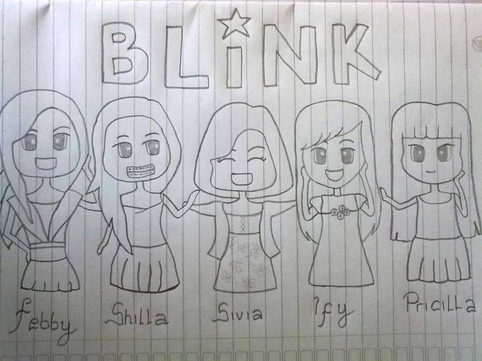 blink :) bikin sendiri