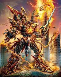 Gatot Kaca Transformer......!!!