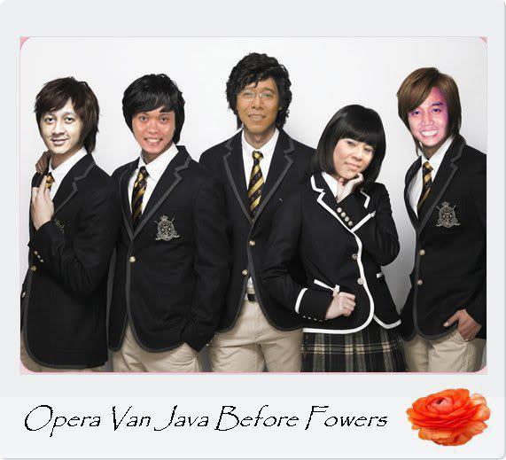 Opera van java before flowers