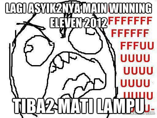 Rage Guy Winning Eleven