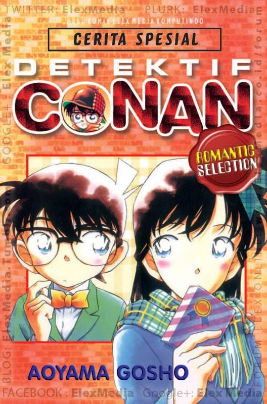 Kisah cinta Shinichi & Ran pilihan Gosho Aoyama yg selalu menarik utk diikuti. Selamat menikmati manisnya kisah cinta mereka! DETEKTIF CONAN ROMANTIC SELECTION http://ow.ly/lbZLv Harga: Rp. 28.000