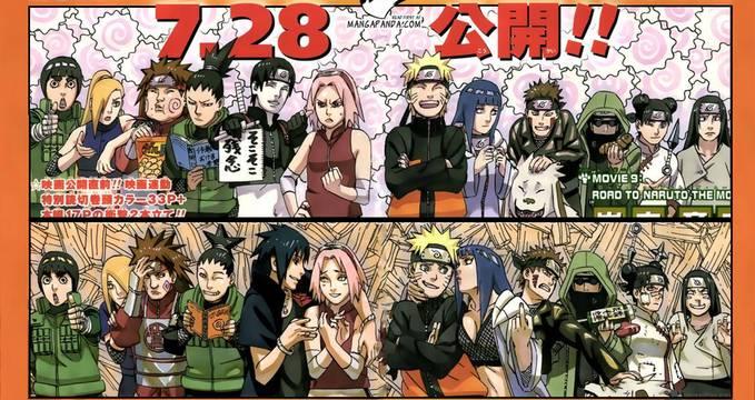 Perbedaan Naruto shipuden Dan Naruto road to ninja Wow nya Ya