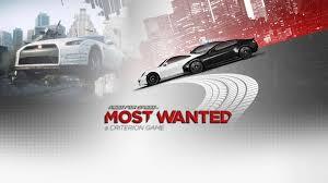 NEED FOR SPEED:MOSTWANTED need for speed most wanted adalah game terlaris di 2005.Sekarang ada versi 2012 nya dengan mobil yang lebih kencang.WOW!dong.