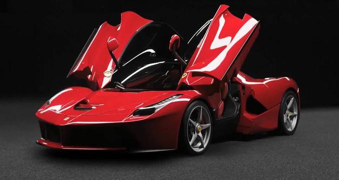 Ferrari LaFerrari Ferrari LaFerrari adalah mobil hybrid tercepat saat ini,dengan 963 HP,355Kph,0 - 100 Kmh:kurang dari 3 detik,0 - 300 Kmh:15 detik. Musuh LaFerrari:Lamborghini Veneno,dan McLaren P1 Arti LaFerrari:The Ferrari