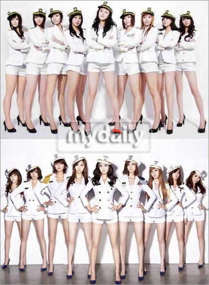 Lagi -lagi plagiat SNSD atas : idol girl (plagiat) bawah: SNSD (real) Bukannya menghina tapi memplagiat kan tidakan tidak baik Yang setuju and SONE wow nya