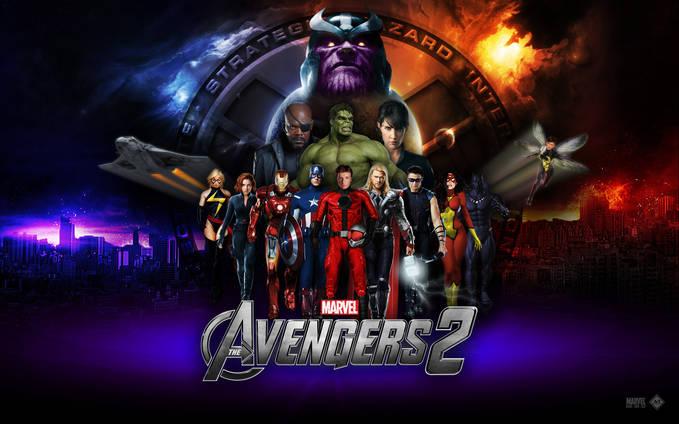 ini film avengers 2 akan dirilis 2015 wownya ya