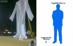 Subhanallah,, inilah replika baju Nabi Adam Alaihissalam