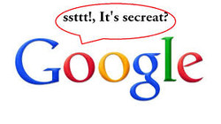 kunci rahasia google
