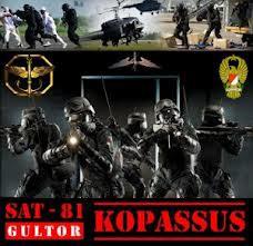 kopasus adalah salah satu pasukan elite terbaik di dunia. Kopassus (singkatan dari; Komando Pasukan Khusus), adalah Pasukan Khusus yang menjalankan misi rahasia dan operasi Intelijen untuk Pemerintah Republik Indonesia.