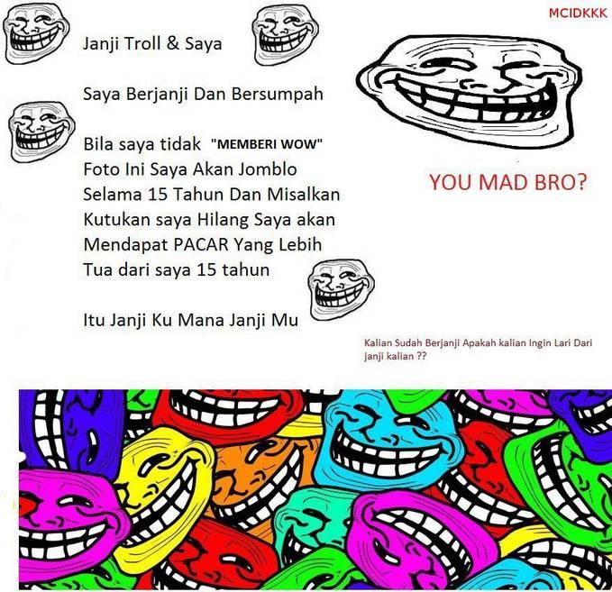 Skalian Like FP ini ya ... http://www.facebook.com/pages/Meme-comic-indonesia-Dan-kata-kata-kocak/440365712672313?ref=ts&fref=ts