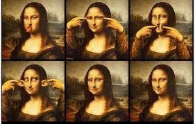 Mona Lisa Nya lucu kaga?Wownya dong B)