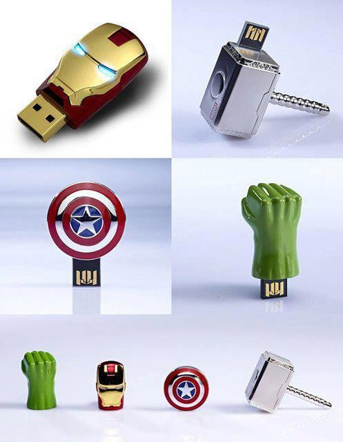flash disk avengers.. wow dong..