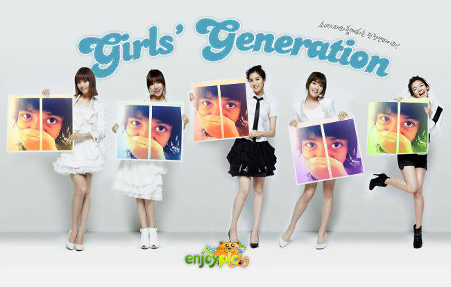 "LOL PICT -.- Sica,Fany,Seo,Tae,Hyo pegang foto ku =="" waktu umur 8 th >.<"