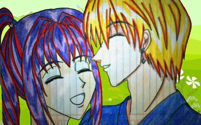"Kurapika x Yumi ""Good Day for Good Date"" anime : HunterxHunter warning: OC (original Character)"