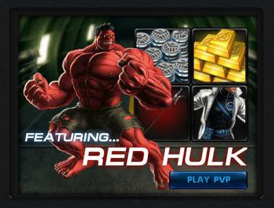 PvP Tournament Season 8 featuring Red Hulk is now live! Compete now to win exclusive prizes and a chance to receive Juggernaut if you complete the Unstoppable Lockbox collection! Remember to join the event on Facebook! Compete in PvP now --> h
